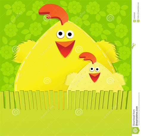 Handmade Easter - handmade easter card stock vector image of