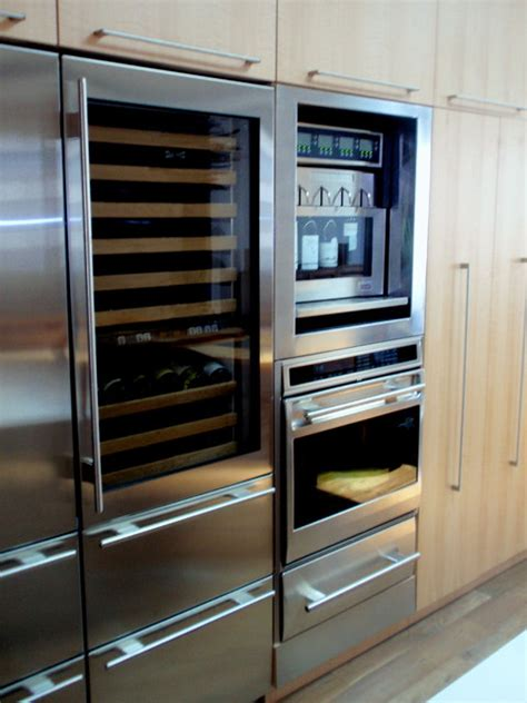 contemporary kitchen appliances winestation modern major kitchen appliances other