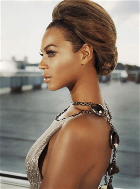 side profile of hairstyles beyonce elegant loose updo thirstyroots com black