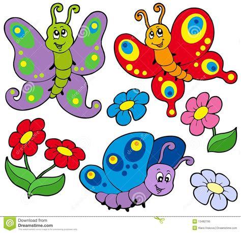 imagenes de varias mariposas varias mariposas lindas ilustraci 243 n del vector