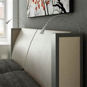 mount reading l to the bed for modern bedroom room