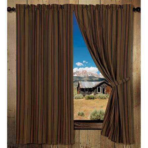 wilderness stripe drapery panel