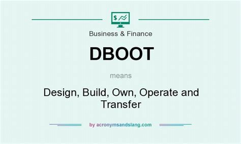 design build meaning what does dboot mean definition of dboot dboot stands