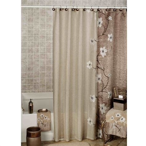 decorative curtains the images collection of design modern bathroom decor
