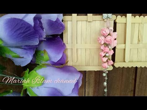 Bros Dagu Juntai 31 cara membuat bros dagu dengan juntai bunga