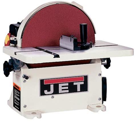 jet bench sander jet 708433 jds 12b 1 horsepower 12 inch benchtop disc