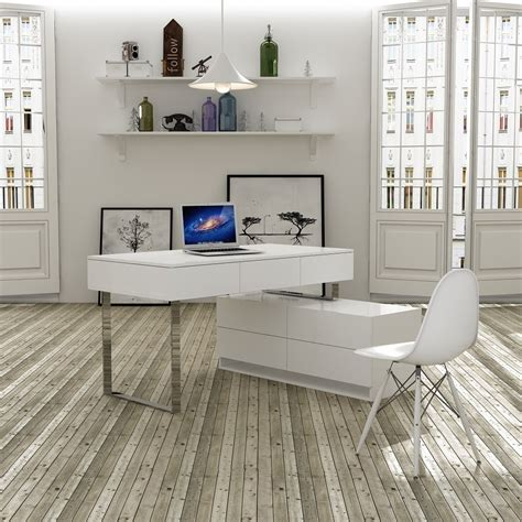 white lacquer desk with drawers desk and hutch in white lacquer finish with