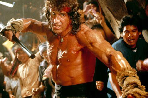 rambo ny film sylvester stallone reveals dangerous diet for rocky