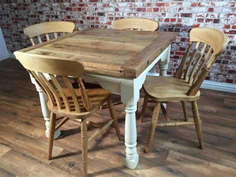 Farmhouse Extendable Dining Table Extending Rustic Farmhouse Dining Table Set Drop Leaf Painted In Farrow Folding