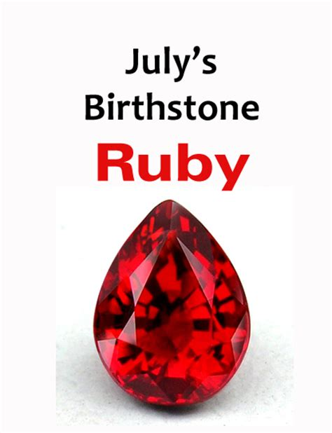Ruby Birthstone Of July 2 by Finest Jeweler In Northwest Indiana July Birthstone Ruby