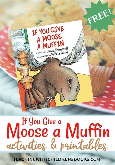 If You Give A A Muffin Printable Book