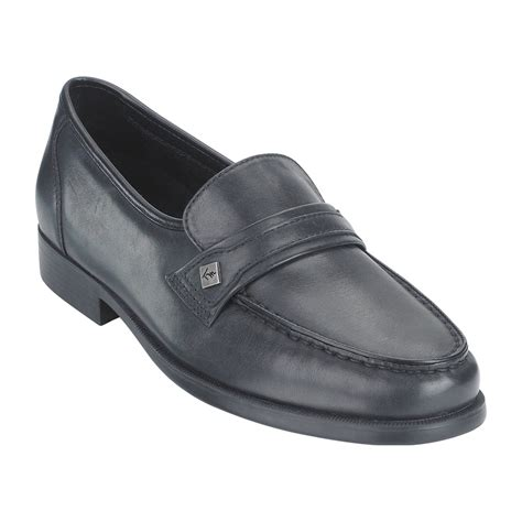thom mcan s karl leather dress loafer wide black