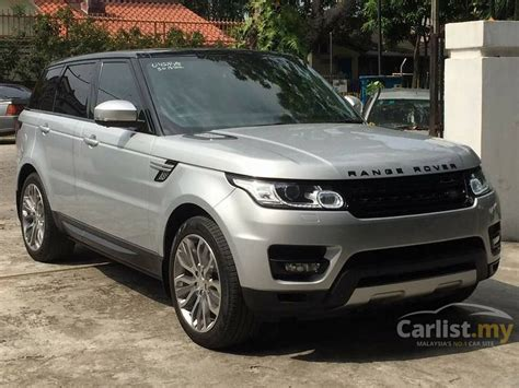 range rover sport silver land rover range rover sport 2015 hse 3 0 in kuala lumpur