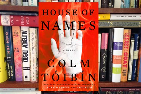 House Of Names by Upcoming Events Inprint Book Club Colm T 243 Ib 237 N S House