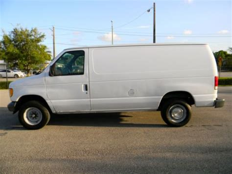 how petrol cars work 2001 ford econoline e350 on board diagnostic system buy used 2001 ford e250 e350 cargo utility service work van econoline only 81k miles in
