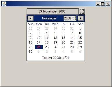 how to add calendar in java swing jdatepicker java swing date picker download sourceforge net