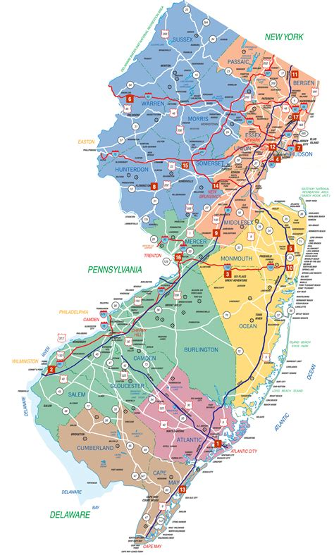 State Of New Jersey Records New Jersey Information Welcome Centers Visitnj Org