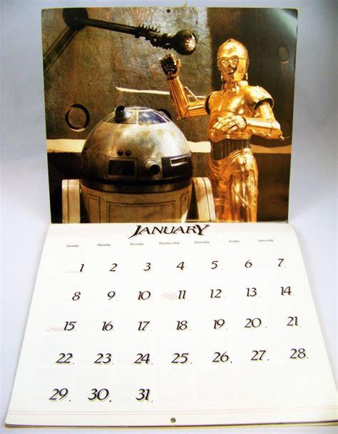 Calendrier De 1983 Return Of The Jedi Calendrier Calendar 1984