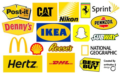 color contact brands yellow in marketing color psychology artitudes design