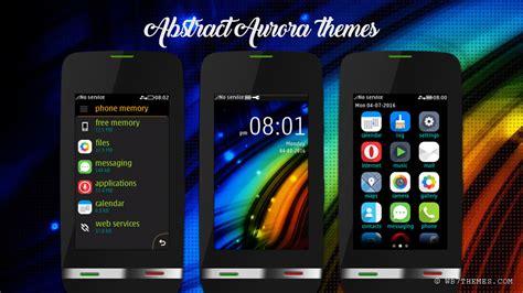 themes nokia asha 310 free download abstract aurora theme asha 310 311 asha full touch asha