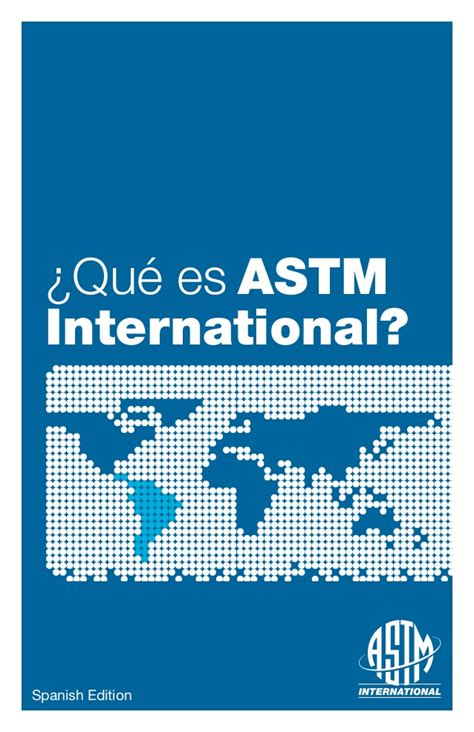 qu vergenza spanish edition que es astm