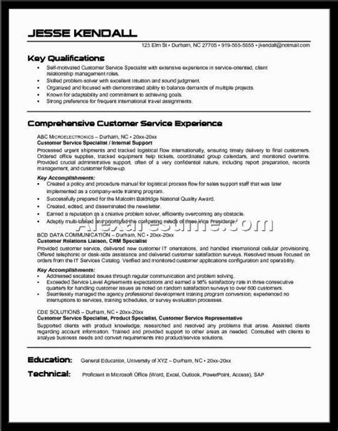 sle customer service resume skills customer service representative resume objective 28