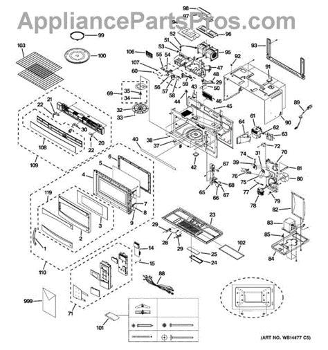 ge microwave parts diagram parts for ge pvm1870sm1ss microwave parts