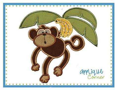 baby monkey swing 1000 images about applique monkeys on pinterest