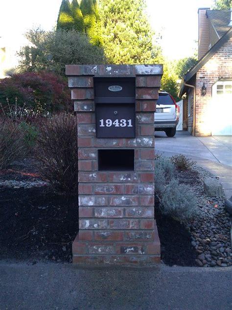 Lake Oswego Post Office by Lake Oswego Brick Mailbox