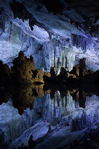Reed Flute Cave China by Reed Flute Cave Guilin China Fantastic Color Shot