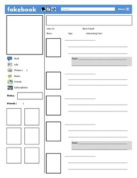 fakebook facebook template by justin ford teachers pay