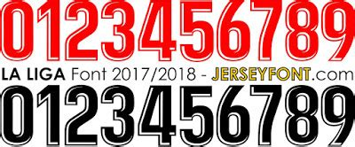 arsenal jersey font free download font number of football jersey