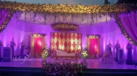 Wedding Banquet Backdrop by Wedding Backdrops Backdrop Decorations Melting Flowers