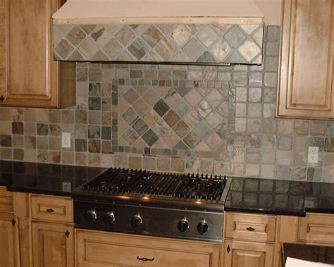 slate backsplashes for kitchens 6 superb slate tile backsplash estateregional com
