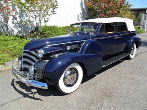 1940 Cadillac Convertible by 1940 Cadillac Fleetwood Convertible Sedan Cadillac