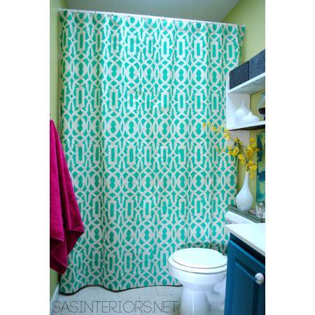 diy shower curtain valance diy shower curtains the cottage market