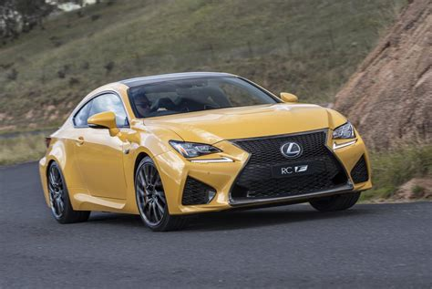 lexus rc f lexus rc f gains dynamic safety and feature upgrades
