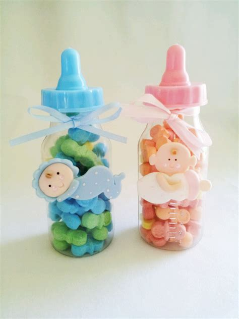 Baby Shower Favor Bottles baby shower favor baby bottle favor baby