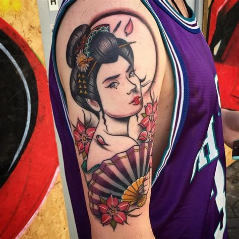 100 japanese geisha tattoos and meanings may 2018