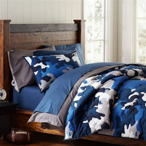 Camo Bedding Sets For Boys Blue Camo Bedding Camo Stuff For A Boy Pinterest