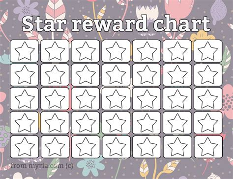 printable rewards charts free coloring pages of homework reward chart