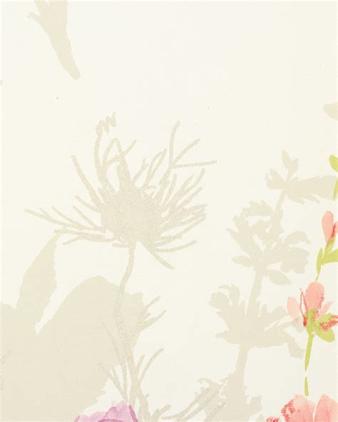 wallpaper flower poetry rasch flower poetry non woven wallpaper 451610 flowers cream