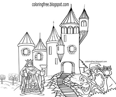 magic castle coloring page free coloring pages printable pictures to color kids