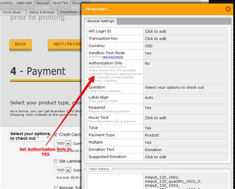 Sle Credit Card Transaction Data Can We Post To Authorize Net And Customers Enter All Their Cc Data There