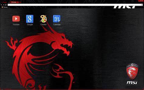 theme windows 8 1 msi msi gaming series dragon chrome web store