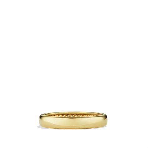 david yurman wedding band mens david yurman wedding band 35mm in metallic for lyst
