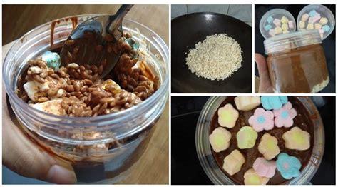 buat sendiri choco jar    bahan  puas