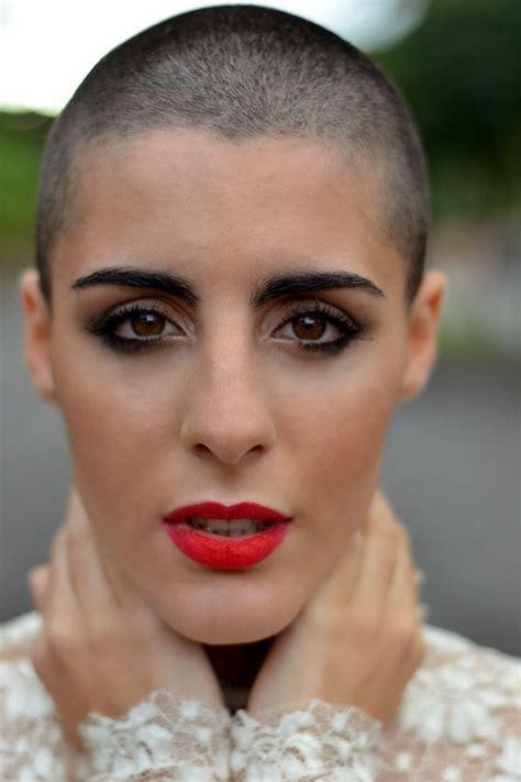women headshave 111 best bald buzz cuts images on pinterest