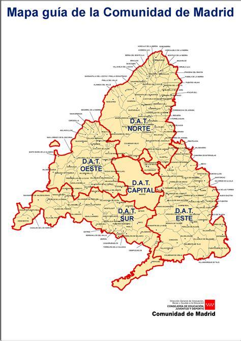 comunidad de madrid madrid mapa de la comunidad de madrid threeblindants com