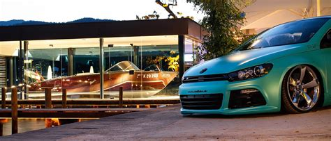 slammed vw scirocco   ps   minty fresh    carscoops